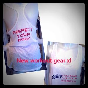 Womans new work out gear